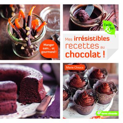 Mes irrésistibles recettes bio au chocolat