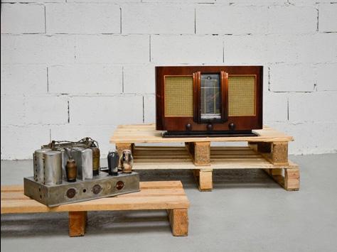 Radios vintage Charlestine
