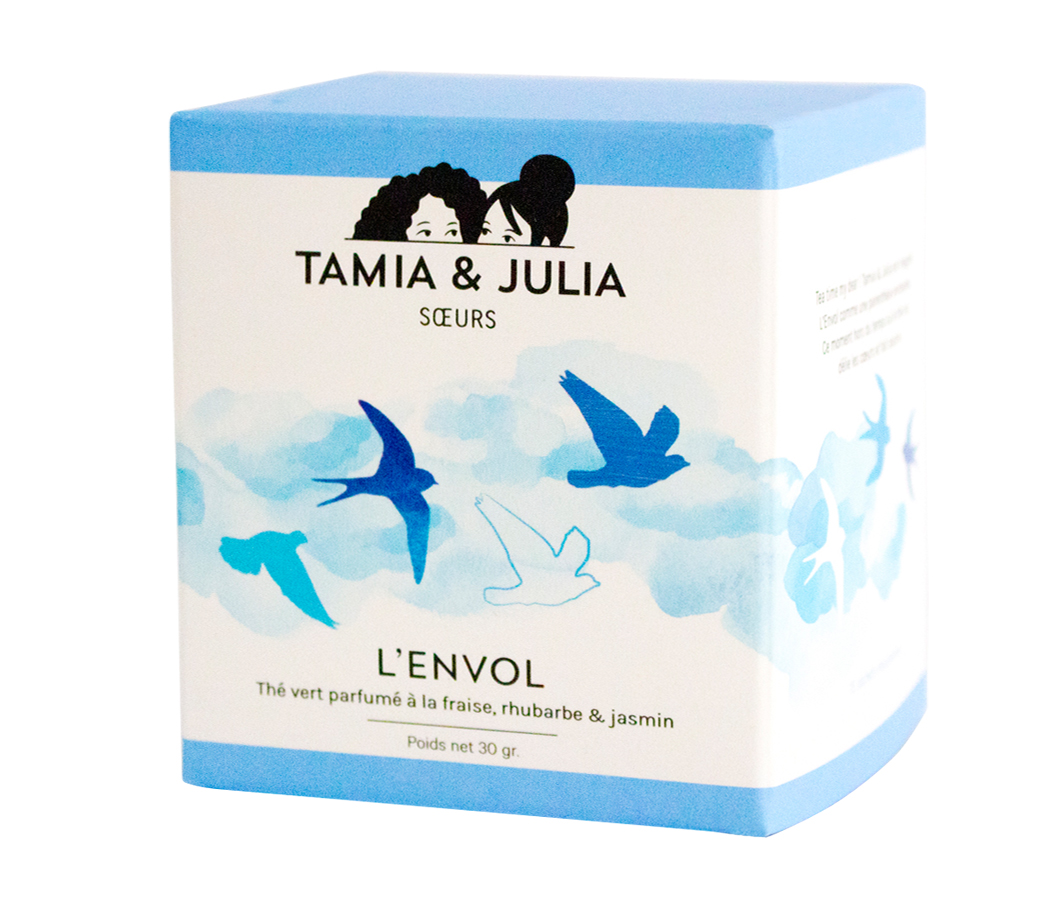 Tamia & Julia thé