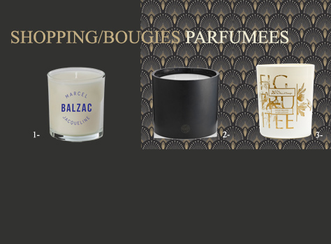 Shopping//Bougies parfumées