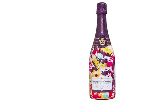 Un champagne qui pétille de couleurs !