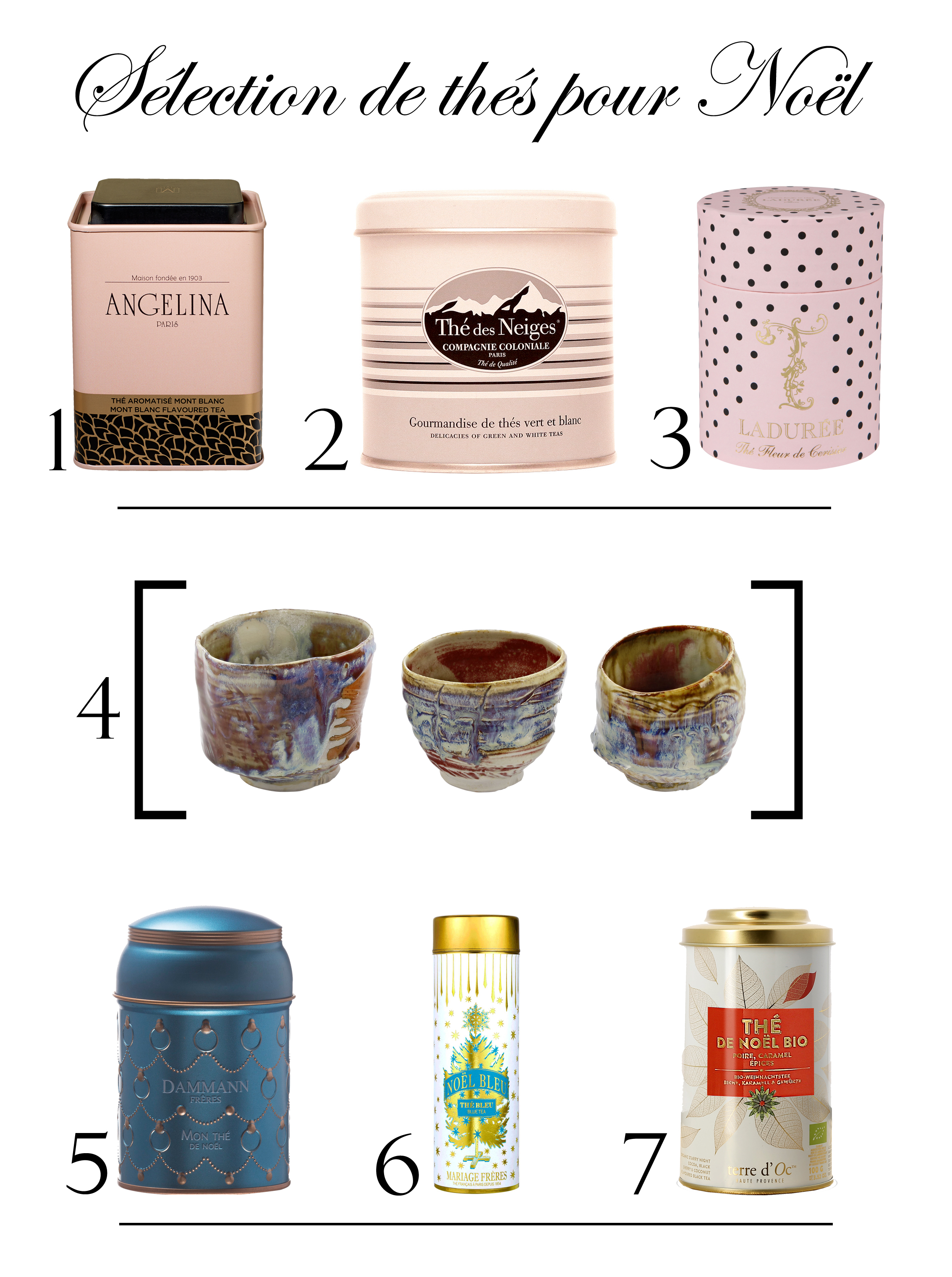 maisons de thé