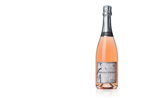 L'élégance fruitée d'un Crémant Rosé d'Alsace