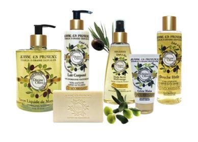 Divine Olive : la gamme capillaire Jeanne en Provence