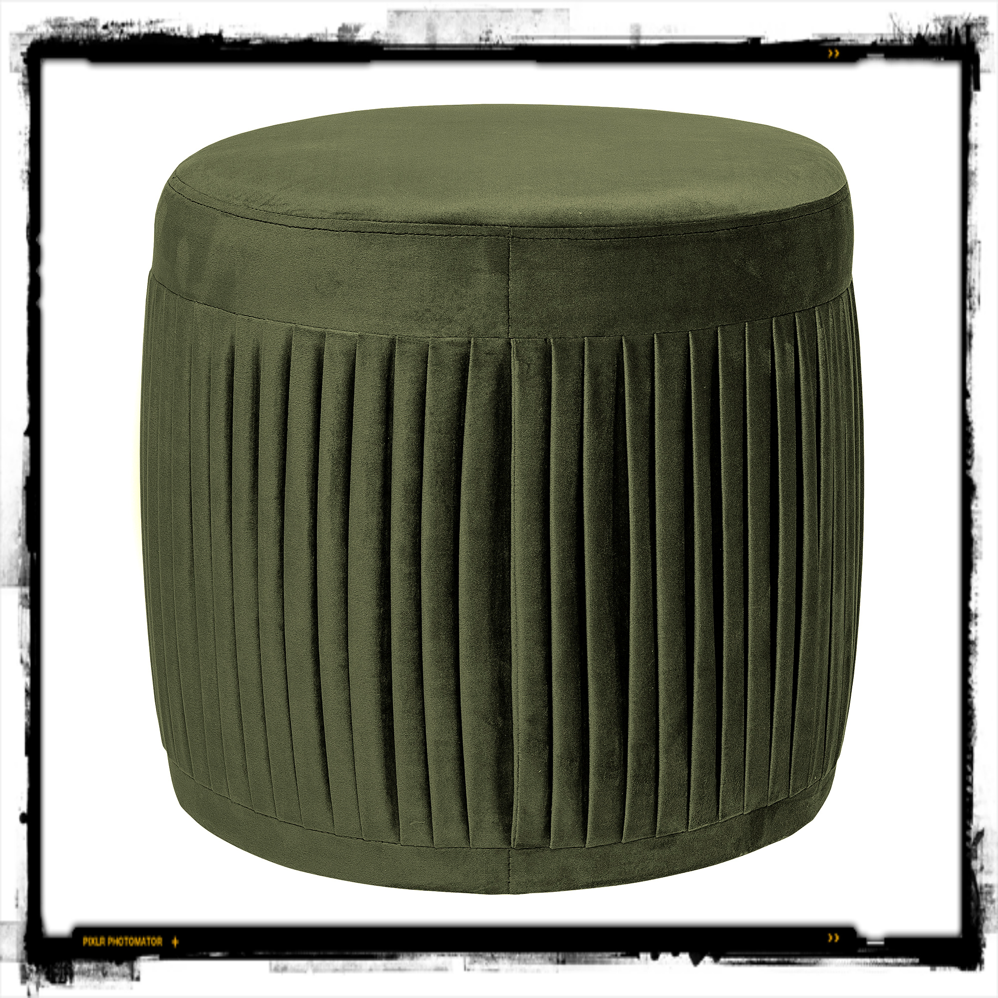 made in design pouf pleat