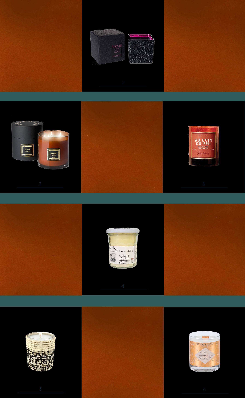 bougies parfumees