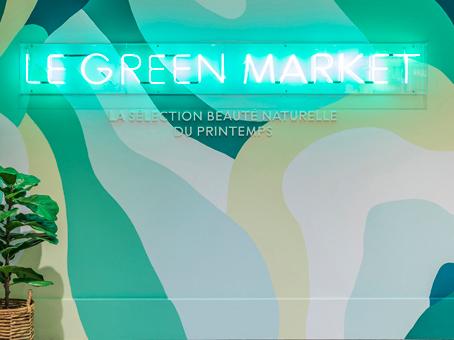 Green Market au Printemps