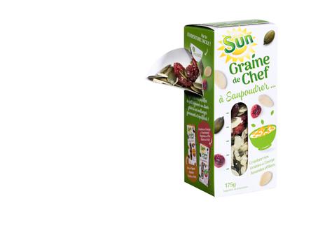 SUN – GRAINE DE CHEF pour saupoudrer vos plats  !