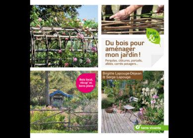 Du bois pour aménager mon jardin