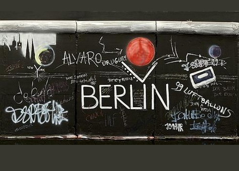 Patrick Roger célèbre les 30 ans de la chute du mur de Berlin