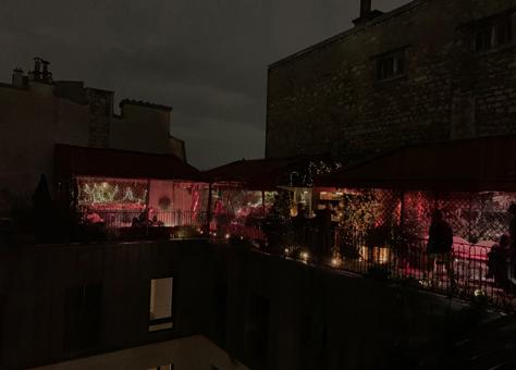 Rooftop de l'hôtel des Grands Boulevards