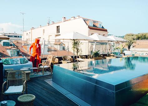 Rendez-vous Arty au Five Seas Hôtel de Cannes