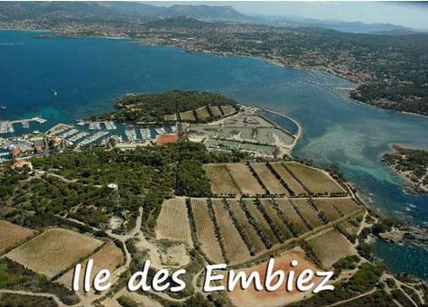 City Break : Vignoble de l'île des Embiez