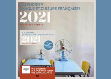 Calendrier 2021: Langue et culture française