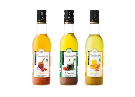 Des vinaigrettes 100% naturelles