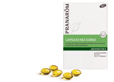 Capsules NEZ-GORGE AROMAFORCE