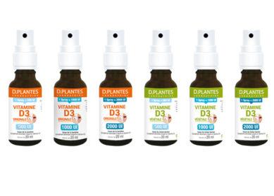 La vitamine D3 en spray est arrivée !