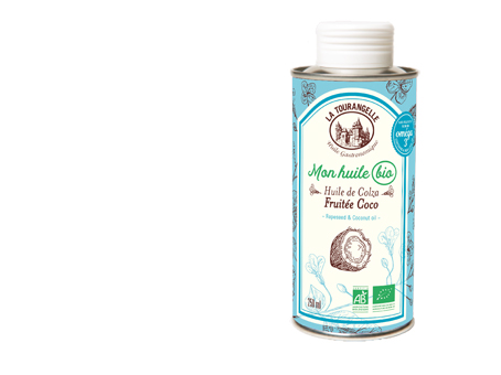La Tourangelle lance la gamme «Mon huile bio» !