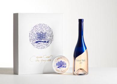 Château Minuty x Casparian Caviar