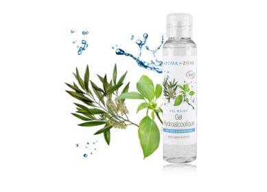Gel hydroalcoolique bio Aroma-Zone