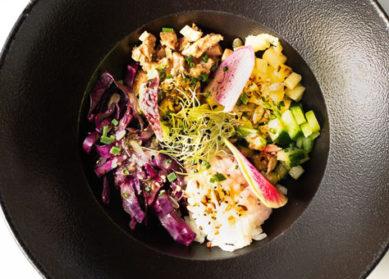 Recette du bowl de poulet mariné