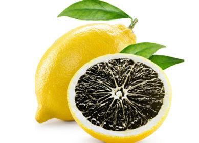 Poudre de citron noir séché bio