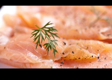 Recette : Carpaccio de saumon