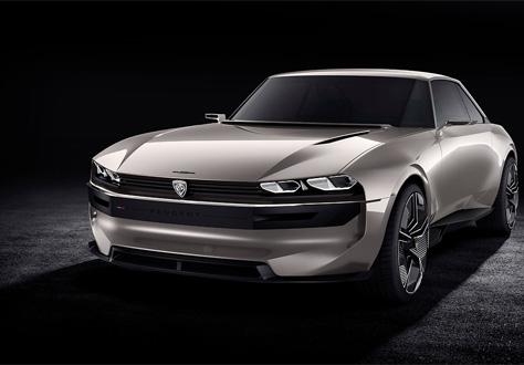 Peugeot : e-LEGEND CONCEPT